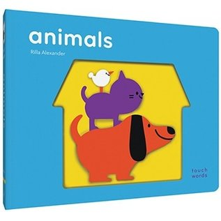 Chronicle Books Touch Words: Animals