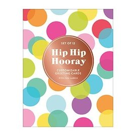 Chronicle Books Hip Hip Hooray DIY Notecards