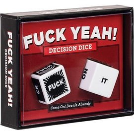 Chronicle Books Fuck Yeah! Decision Dice