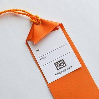 Boldfaced Goods Award Ribbon - Showed Up
