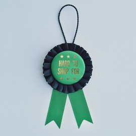 Boldfaced Goods Bottle Award Ribbon - Hard To Shop For