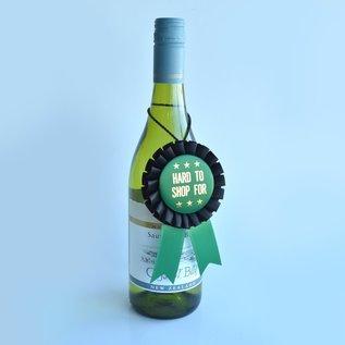 Boldfaced Goods Bottle Award Ribbon - Hard To Shop For