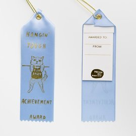 Yellow Owl Workshop Ribbon Note - Hangin' Tough