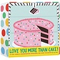 Chronicle Books SALE Love You More Than Cake Notecards