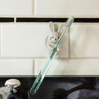 Kikkerland Design Inc Rabbit Toothbrush Holder