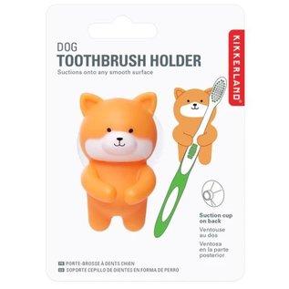 Kikkerland Design Inc Dog Toothbrush Holder