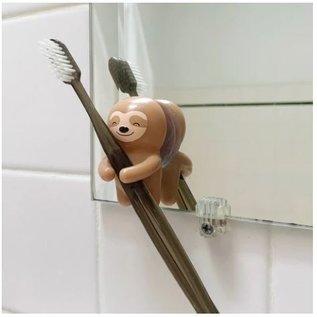 Kikkerland Design Inc Sloth Toothbrush Holder
