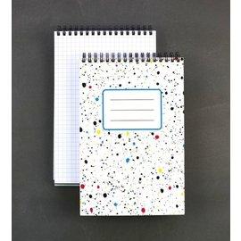 Public School Paper Co. Splatter Spiral Notebook