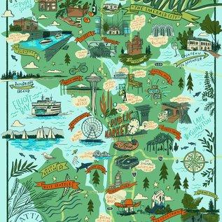 True South Puzzle Co. Seattle Puzzle