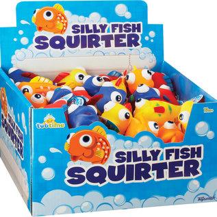 Toysmith Silly Fish Bath Squirter
