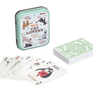 Wild & Wolf Inc. Cat Lovers Playing Cards