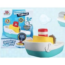 Toysmith Spraying Tugboat