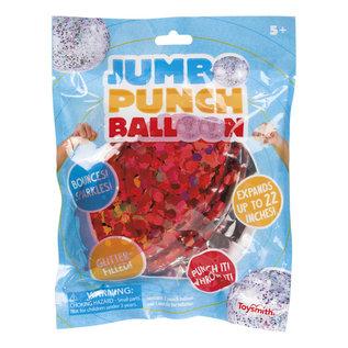Toysmith Jumbo Glitter Punch Balloon