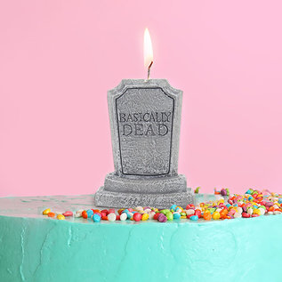 Gift Republic Basically Dead Birthday Candle