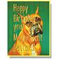 Smitten Kitten Birthday Card - Magnificent Bastard