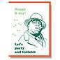 Smitten Kitten Birthday Card - Biggie Smalls