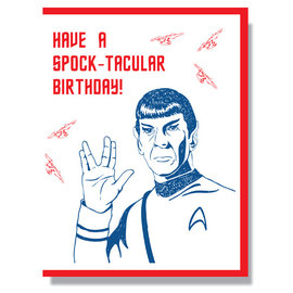 Smitten Kitten Birthday Card - Leonard Nimoy
