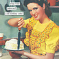 Anne Taintor Birthday Card - What Wine Pairs Well with Birthday Cake