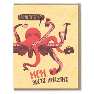 Modern Printed Matter Mother's Day - Octopus All the Things