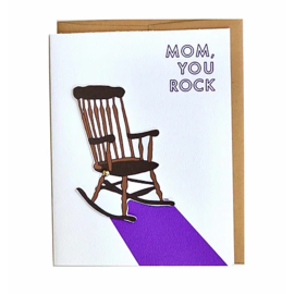 Cracked Designs Mother's Day - Rocking Mom