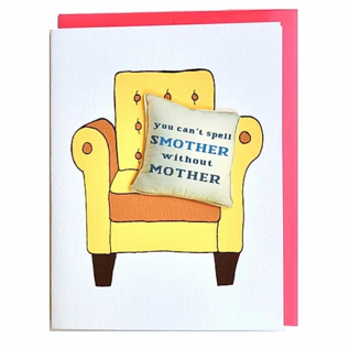 Cracked Designs Mother's Day - Smother Mother