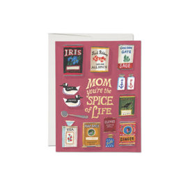 Red Cap Cards Mother's Day - Spicy Mom