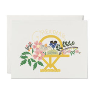 Red Cap Cards Mother's Day - Grandma Bouquet