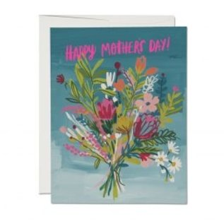 Red Cap Cards Mother's Day - Neon Pink Mother