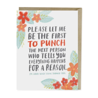 Emily McDowell and Friends Encouragement - Happens For A Reason