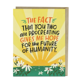 Emily McDowell and Friends Baby Card - Future of Humanity