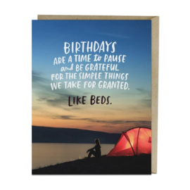 Emily McDowell and Friends Birthday Card - Simple Things