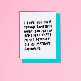 Craft Boner Love Card - Methane Poisoning