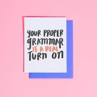 Craft Boner Love Card - Proper Grammar