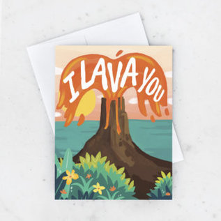 Idlewild Love Card - I Lava You