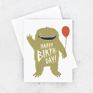 Idlewild Birthday Card - Party Monster
