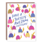 Hello Lucky / Egg Press Birthday Card - Turtley Awesome