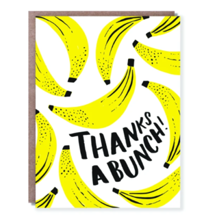 Hello Lucky / Egg Press Thank You Card - Bananas