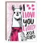 Hello Lucky / Egg Press Love Card - Llama Llove