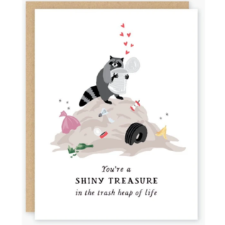 Party of One Greeting Card - Shiny Treasure