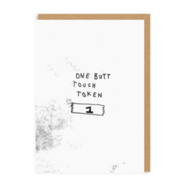Ohh Deer Love Card - Butt Touch