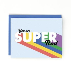 Public School Paper Co. Congrats Card - You Are Super Rad