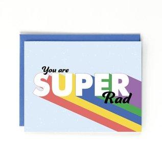 Public School Paper Co. Congrats Card - You Are Super Rad