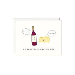 Paula & Waffle Anniversary Card - Perfect Pairing