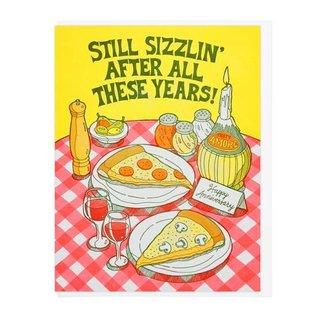 Lucky Horse Press Anniversary Card - Sizzlin'