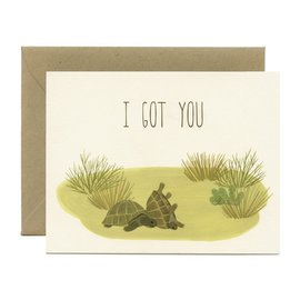 Yeppie Paper Encouragement Card - Box Turtles
