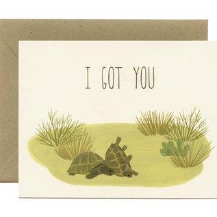 Yeppie Paper Encouragement Card - Box Turtles