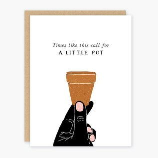 Party of One Encouragement Card - A Little Pot
