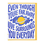 Lucky Horse Press Encouragement Card - Love Surrounds You