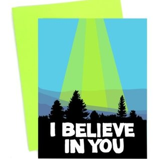 Band of Weirdos Encouragement Card - I Believe In You