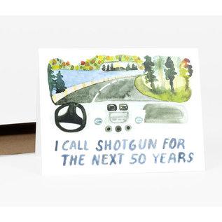 Buy Olympia Anniversary Card - I Call Shotgun